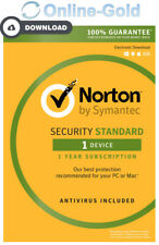 Norton Security 2018 1 Gerät 1 Jahr - EU Only - PC MAC Android Internet Security