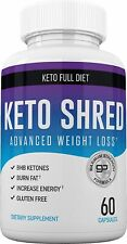 Keto Ultra Shred - Keto Advanced Weight Loss Pill Fat Burners Help Reduce Hunger