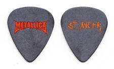 Metallica St. Anger Black Guitar Pick #2 - 2004 Tour