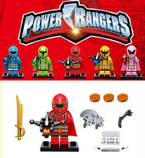 Power Rangers Movie  Saban Entertainment Mini Custom Figures Fits Lego Toys