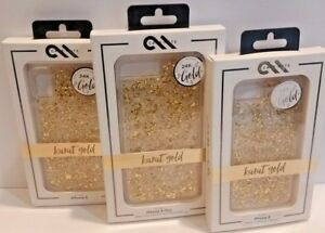 Case-mate Phone Case Cover Karat Gold Made with 24K Gold for iPhone