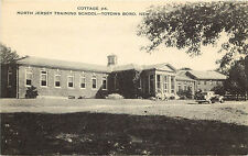 Postcard North Jersey Training School Totowa Boro New Jersey Cottage #4 Monroe