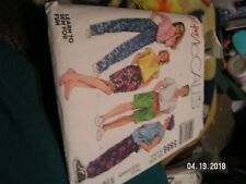 Uncut McCalls Sewing Pattern 5886 Shorts Small Mens
