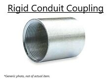 "Galvanized Rigid Conduit Coupling Fits Pipe Size 1"" (1.315"" o.d.)  (Pack of 10)"