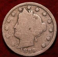 1889 Philadelphia Mint Liberty Nickel