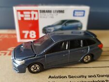 Tomica - #78 - Subaru Levorg Blue Limited Colour - factory sealed box