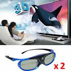 Best Dlp Link 3d Glasses - 2X Rechargeable Active Shutter 3D Glasses DLP-Link For Review
