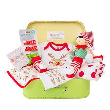 Baby First Christmas Hamper - Elf Newborn Baby Girl Boy Gift Idea