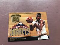 Fleer 1994-95 Basketball - Dikembe Mutombo - NBA League Leader - Nuggets