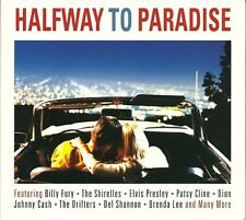 HALFWAY TO PARADISE - 2 CD BOX SET - BILLY FURY, THE SHIRELLES & MORE