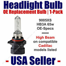 Headlight Bulb High Beam OE Replacement 1pk Fits Listed Cadillac Models - 9005XS