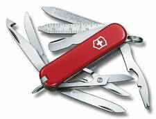 🌟🌟🌟 0.6385 VICTORINOX MINICHAMP SWISS ARMY POCKET KNIFE RED 53973 35111