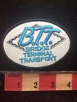 Vtg Bridge Terminal Transport Trucking / Logistics Advertising Patch C761