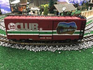 LGB 42918 Red Box Club Car G Scale Train