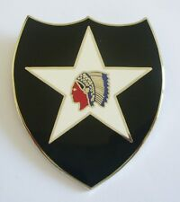 "2nd INFANTRY DIVISION ""Badge"" (Fabrication Actuelle)"