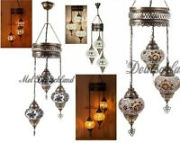 Orientalische Mosaik Hängelampe Unikat Hängeleuchte Handgefertigte Türkisch Lamp