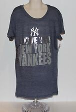 "New York Yankees ""I Love The New York Yankees"" Girls Shirt Large (14) NWT"