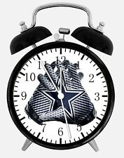 "Dallas Cowboys Alarm Desk Clock 3.75"" Home or Office Decor F11 Nice For Gift"