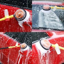 Car Wash Brush With Long Handle Switch Water Flow Foam Bottle Car Cleaning Brush