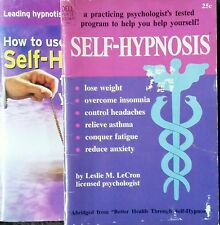Self Hypnosis How To Subliminal Subconscious Suggestion 2 Mini Magazines Rare!