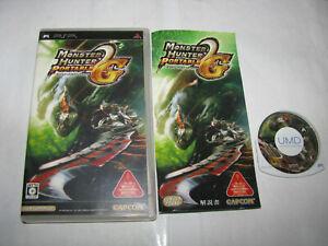 Monster Hunter Portable 2nd G Playstation Portable PSP Japan import US Seller