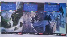 Lot of 3x J. R. R. Tolkien Novels! Lord of the Rings Trilogy!