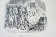 Druck Buchseite Napoleon Arrestation du duc d'Engnien Raffet (N160)