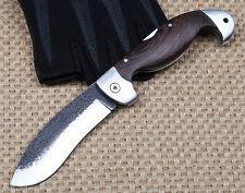Handgemachte Falzmesser zurück Schloss Holzgriff Ansammlungsmesser folding knife
