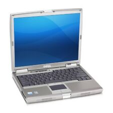 "DELL D610 14"" LAPTOP, SSD Boot drive, Serial Port, XP PRO SP3, 2GB mem, CLEAN"