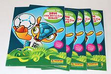 Panini Road to FIFA World Cup brasil 2014 - 5 x vacía álbum Empty álbum not Mint!