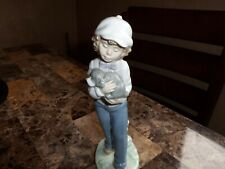 Rare Beautiful Nao Lladro Figurine (Best Buddies) #01135 Made In Spain