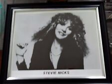 Stevie Nicks Glossy 8x10 Photo Print B@W Press - Promo