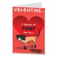 Funny Rude Valentines Card For Him Husband Boyfriend