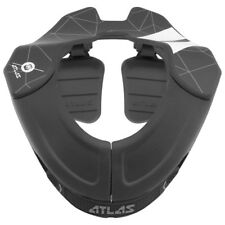 ATLAS BROLL YOUNG KIDS MOTOCROSS MX NECK BRACE PEE WEE 4-6 YEARS - GHOST BLACK
