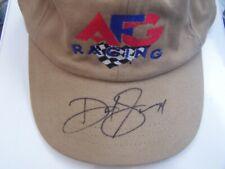 David Green # 34 AFG Racing CAP Autographed Signed HAT Nascar