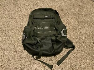 Nike Oregon Ducks Team Issue Athlete Backpack-Sequoia Dk Grn/Blk #CU1021 355 NWT