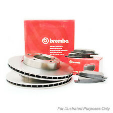 Fiat Qubo 1.3 D Multijet Genuine Brembo Painted Front Brake Disc & Pad Set