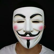 V for Vendetta Resin Hacker Mask Project Zorgo for Halloween Party Costume Props