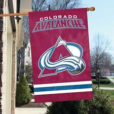 """Colorado Avalanche Applique NHL Licensed 28"""" x 44"""" Banner / Flag - Free Shipping"""