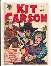 Kit Carson 2 Fair Cond. water damage