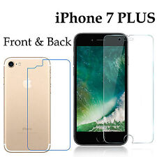 Anti-scratch 4H PET film screen protector Apple iphone 7 PLUS front + back