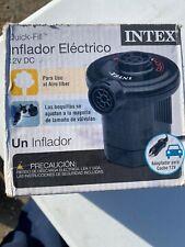 INTEX QUICK FILL ELECTRIC PUMP 12V DC~CAR ADAPTER~ACCESSORY OUTLET