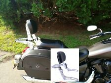 Kawasaki Vulcan VN 900 2000 Classic Custom Sissy Bar Backrest with Luggage Rack