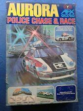 AURORA POLICE CHASE & RACE SLOT CAR TRACK