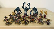 Blood Bowl Nicely Painted Goblin Team 16 Players With Ripper And All Postionals