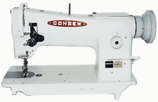 Consew 206rb 5 Triple Feed Upholstery Walking Foot Sewing Machine Head Only