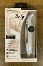 Finishing Touch Flawless Body Total Body Hair Remover Rechargeable. New In Box.