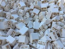 LEGO 3660 - 50 NEW WHITE Friends Brick Slope Roof Tiles Per Order