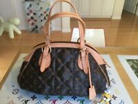 LOUIS VUITTON LIMITED EDITION (TRIPLE QUILED  ETOILE BOWLING BAG)EX LARGE SIZE