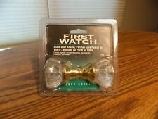 New! First Watch 1140 Glass Door Knobs